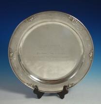 Acorn by Georg Jensen Sterling Silver Serving Platter Round #642C (#2906) - $2,995.00