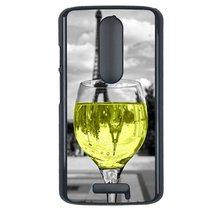 Coloful wine with Paris Motorola Moto G3 case Customized premium plastic... - $12.86
