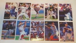 1995 Fleer Ultra Baseball Lot Of 38 & Checklist #1 - $4.50