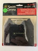 New Genuine Smith Corona H Series 21000 Correctable Typewriter Ribbon (2 pack) - $12.19