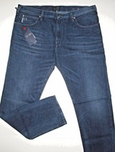 Armani jeans mid-rise straight leg indigo size 29x34 style name J45 - $119.95