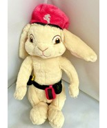 "Build a Bear BAB Pink Beret Bunny Rabbit Plush HOP Movie 10"" Stuffed Ani... - $39.55"