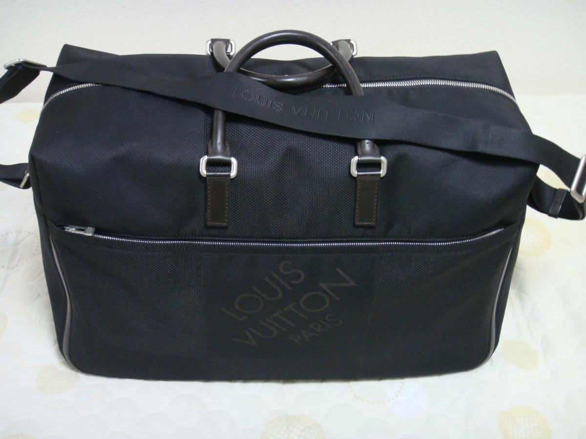Louis Vuitton Geant Damier Albatross Sevran shoulder & handbag Auth M93227 Juan