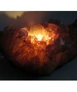 Natural  Geode Cluster  Gemstone Candle Holder -  Large - $41.75