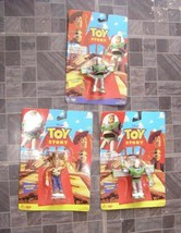Disney Toy Story Lot Buzz Woody Bendy Bendable Figures + - $20.00
