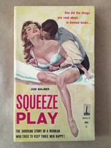 Jon Balmer / Squeeze Play First Edition 1961 Sleaze Paperbacks #111321 - $21.56