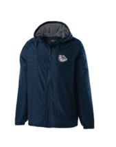 Holloway NCAA Gonzaga Bulldogs Youth Range Jacket, Navy/Carbon, Large New w/Tags - $31.49