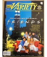 Daily Variety  June 18, 2002 Friends  back issue magazine TV Show newspaper - $30.00