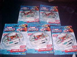 MARVEL Super Heroes Finger Skateboards Lot of 5 New - $21.99