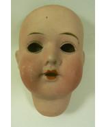 """Antique Hermann Herm  Steiner German Bisque Doll part Head 3.25"""" - $134.10"""
