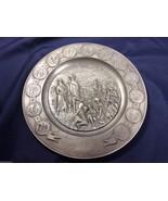 Bicentennial Commemorative 1776-1976 international pewter plate 6480 - $59.00