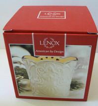 "LENOX Bone China Merry Lights ANGEL Votive tea light Candle Holder 3.5"" NIB - $31.50"