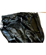 VTG Elegance Lindsey Blake Black lace nylon sz 34 Slip Gown Lingerie USA - $65.00