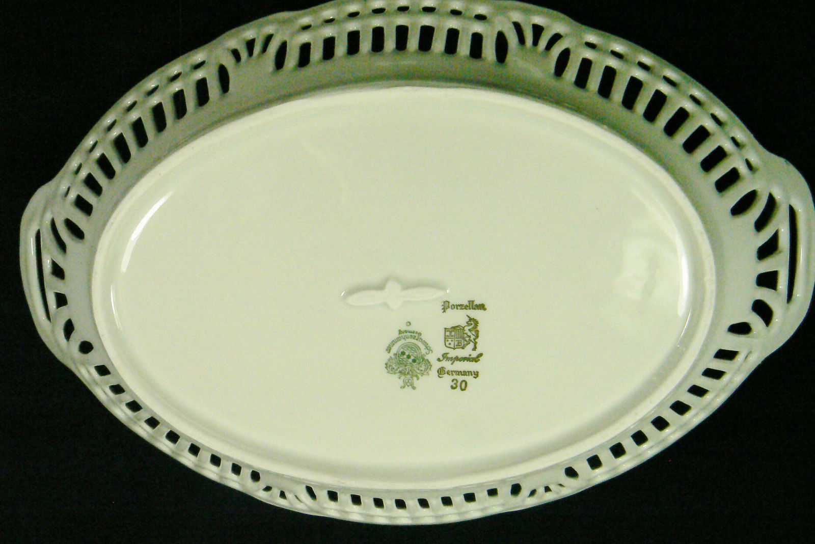 how to cut a slot in a porcelain bowl
