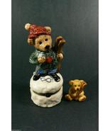Boyds Collection Le Bearmoge 392003 KNUT .. DOWNHILL RACER Figurine Trin... - $24.00