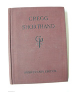 VTG 1942 Gregg Shorthand Book Anniversary Edition Light -Line Phonography - $47.20