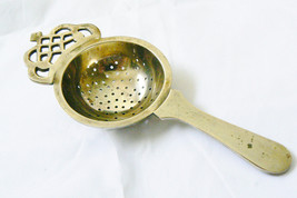 Vintage Tea Straine Silver Plate Hallmarked EPNS - $49.00