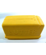 VINTAGE CELLULOID YELLOW BUTTER STICK  SALT OR PEPPER SHAKER - $20.00