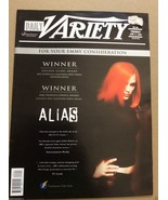Daily Variety  June 11, 2002 Alias  back issue magazine TV Show newspaper - $19.95