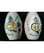VINTAGE JAPAN W LABEL MARCO FINE CHINA SALT & PEPPER SHAKERS - $28.00