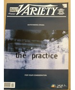 Daily Variety  June 3, 2002 the practice back issue magazine TV Show new... - $25.00