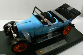 FAIRFIELD MINT 1917 REO TOURING BLUE WITH ORANGE WHEELS SIGNATURE SERIES - $118.75