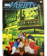 Daily Variety  June 7, 2002 Friends  back issue magazine TV Show newspaper - $30.00
