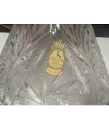 IMPERLUX ELEGANT CUT TO CLEAR VNTG DECANTER~~pinwheel~star of david cutt... - $39.95