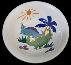 Mikasa Dino & Friends Coupe Cereal Soup Bowl #CC111 Children Kids - $22.99