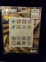 NEW Janlynn MOTHER'S PRAYER quilt Counted Cross Stitch Kit 72-109 floss graph - $29.00