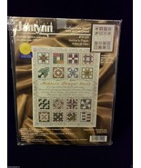 NEW Janlynn MOTHER'S PRAYER quilt Counted Cross Stitch Kit 72-109 floss ... - $29.00
