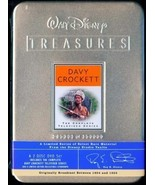 DAVY CROCKETT COMPLETE TELEVISED SERIES FROM - WALT DISNEY TREASURES - L... - $118.68