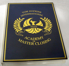 TOM HOPKINS - ACADEMY OF MASTER CLOSING - 12 TAPES - MSRP $225 - SALES -... - $44.43