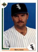 1991 Upper Deck Barry Jones #39 Chicago White Sox (MT) Baseball Card - $0.10