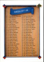 1991 Upper Deck #100 Checklist (MT) Baseball Card - $0.10