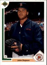 1991 Upper Deck John Dopson #88 Boston Red Sox (MT) Baseball Card - $0.10