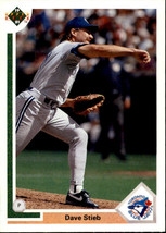 1991 Upper Deck Dave Stieb #106 Toronto Blue Jays (MT) Baseball Card - $0.10