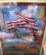 JACK WOODSON STAINED GLASS AMERICA THE BEAUTIFU... - $45.00
