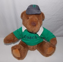 "Gund Land's End Rugby Bear Brown Coach 12"" 1993 - $24.74"