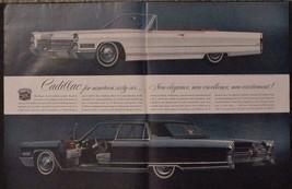 1966 Vintage Cadillac Car 1966 De Ville Convertible Fleetwood Brougham  ... - $12.95