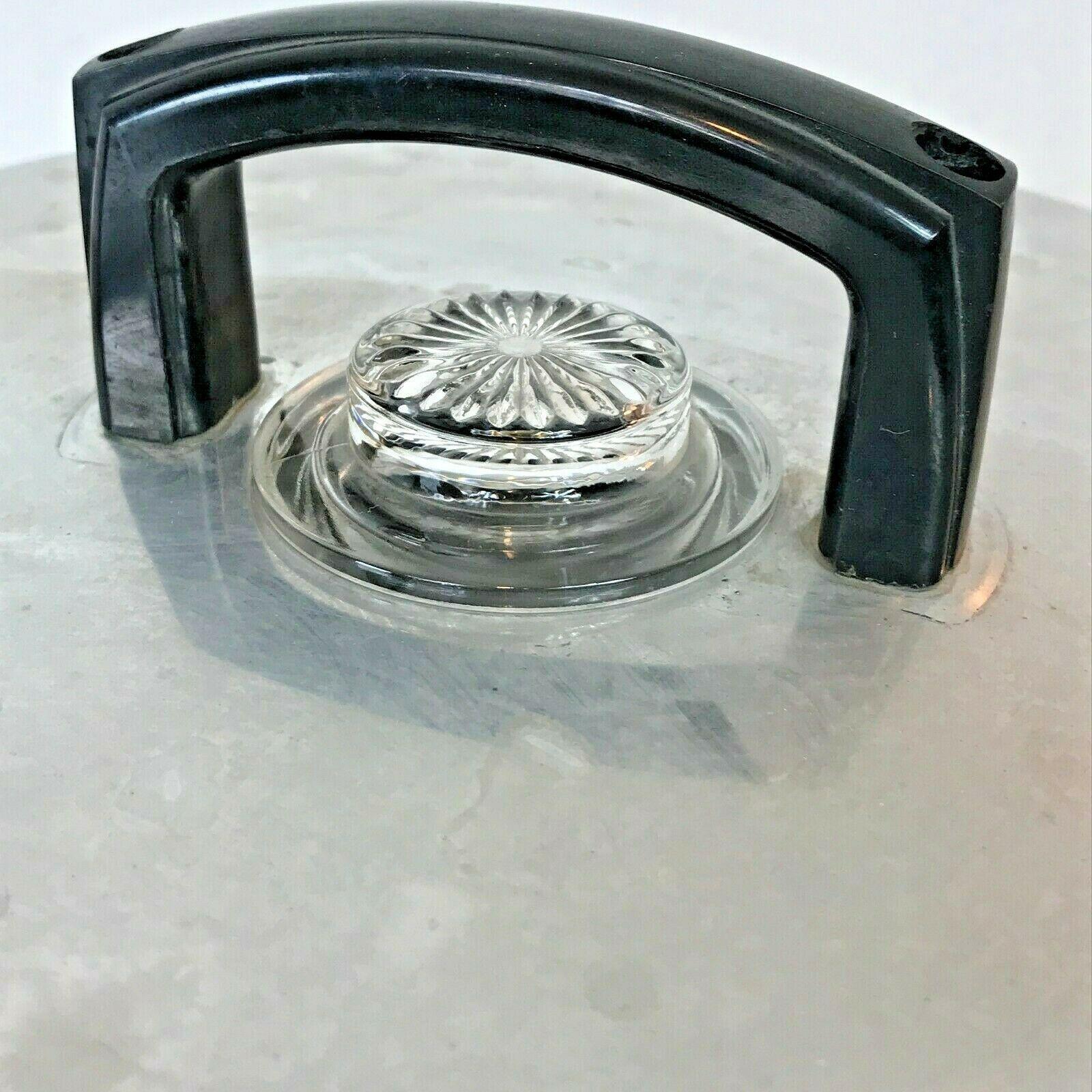 Vintage Enterprise Coffee Percolator 58 cup Urn Model AP48N WORKS Glass Knob LB image 2