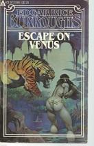 ESCAPE ON VENUS-Edgar Rice Burroughs;Ace 21566;Venus series #4;Frank Fra... - $9.97