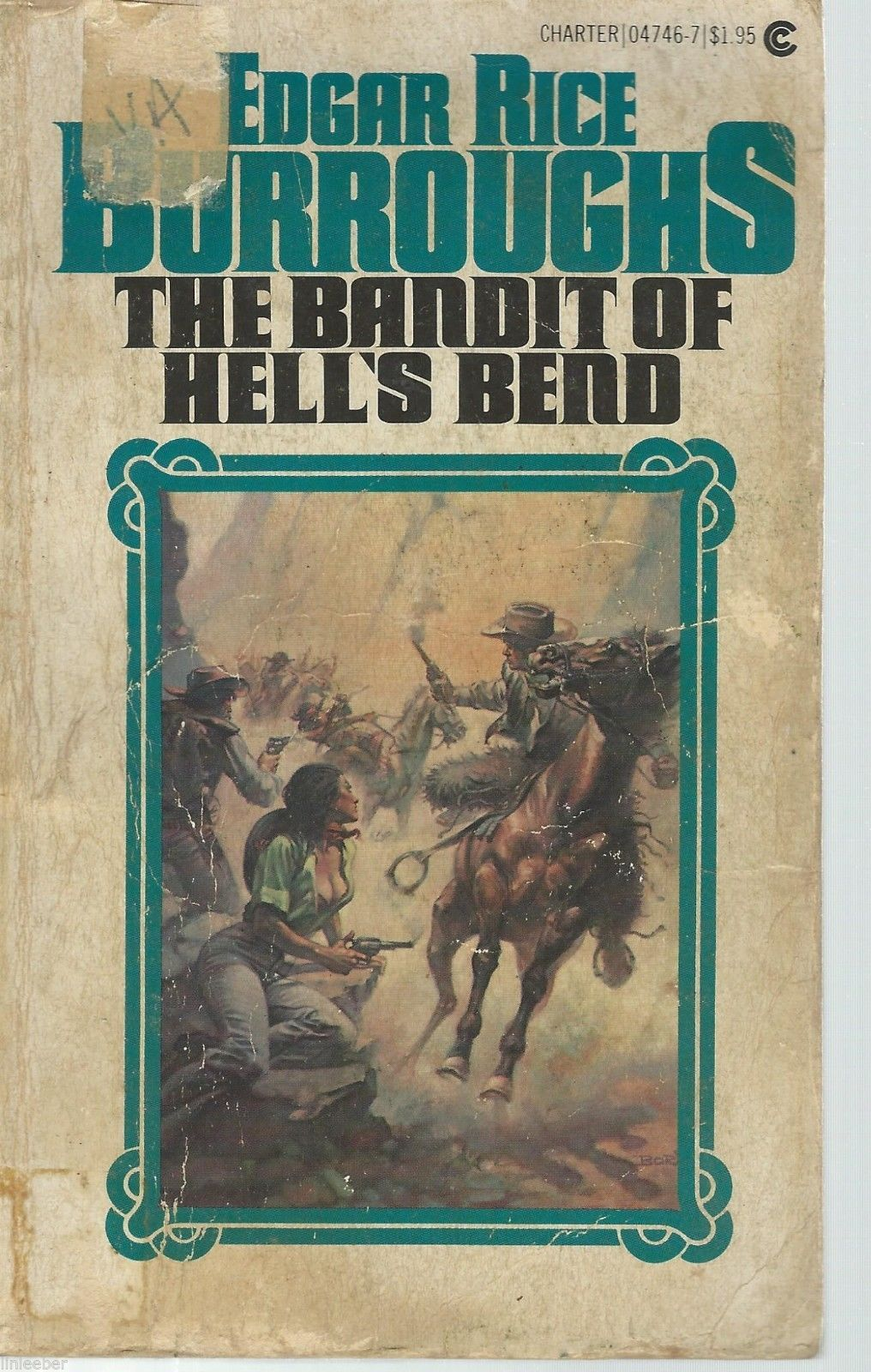 Primary image for The Bandit Of Hell's Bend-Edgar Rice Burroughs;Charter 04746-7;Boris Vallejo Art