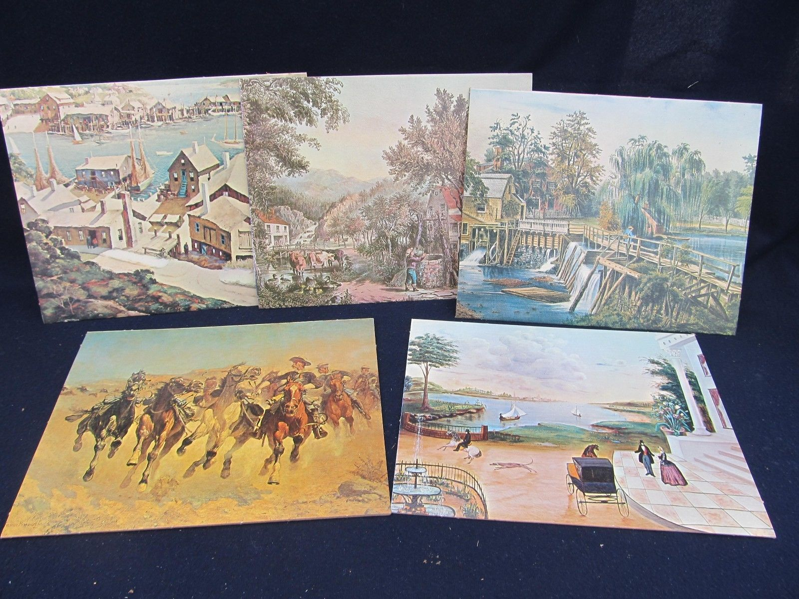 6 Medium Royale Academie Collection 1960s Brushstroke Reprints of Masters Lot