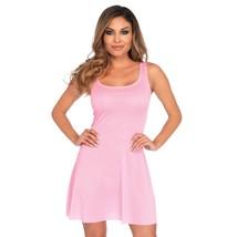 Leg Avenue Basic Skater Style Women's Adult Costume Dress Pink Medium - $21.99