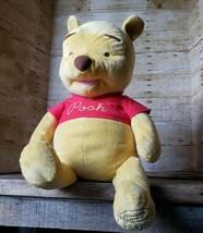 "24"" Winnie The Pooh Large Plush Doll Stuffed Animals Disney Big Cute Sof... - $19.34"