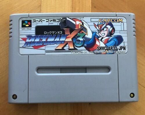 Rockman X3, Capcom, Nintendo Super Famicom
