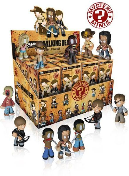 Primary image for Walking Dead Series 2 PDQ Mystery Minis Trading Figure (1 Random Blind Box) NEW