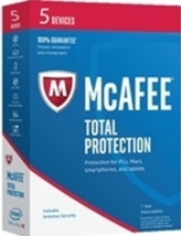 McAfee Security MTP17EDL5RAA 2017 Total Protect... - $27.97