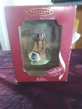 American Girl Collection Hallmark 1764 Kaya Keepsake Ornament Native Blu... - $17.75